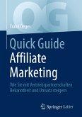 Quick Guide Affiliate Marketing (eBook, PDF)