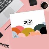 Design Wandkalender A4 quer (2021)