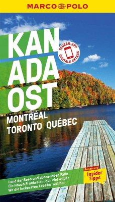 MARCO POLO Reiseführer Kanada Ost, Montreal, Toronto, Québec (eBook, PDF) - Teuschl, Karl