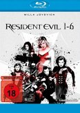 Resident Evil - 1-6 BLU-RAY Box
