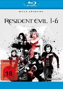 Resident Evil - 1-6 BLU-RAY Box - Milla Jovovich,Michelle Rodriguez,Eric Mabius