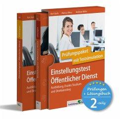 Einstellungstest Öffentlicher Dienst: Prüfungspaket mit Testsimulation - Guth, Kurt;Mery, Marcus;Mohr, Andreas