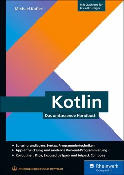 Kotlin (eBook, ePUB) - Kofler, Michael