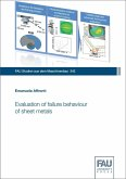 Evaluation of failure behaviour of sheet metals