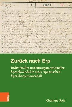 Zurück nach Erp (eBook, PDF) - Rein, Charlotte
