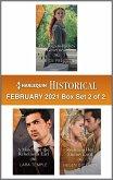 Harlequin Historical February 2021 - Box Set 2 of 2 (eBook, ePUB)