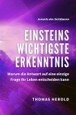 Einsteins Wichtigste Erkenntnis (eBook, ePUB)