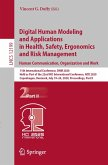 Digital Human Modeling and Applications in Health, Safety, Ergonomics and Risk Management. Human Communication, Organization and Work (eBook, PDF)