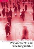 Repetitorium Personenrecht und Einleitungsartikel (eBook, PDF)