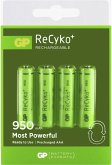 1x4 GP ReCyko NiMH Akku AAA 950mAH, ready to use