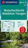 KOMPASS Wanderkarte Wutachschlucht, Waldshut, Tiengen