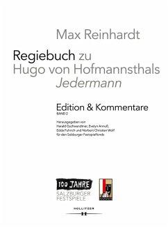 Max Reinhardt: Regiebuch zu Hugo von Hofmannsthals