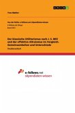 Der klassische Utilitarismus nach J. S. Mill und der effektive Altruismus im Vergleich. Gemeinsamkeiten und Unterschiede