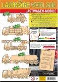 Laubsägevorlagen Lastwagen-Mobile