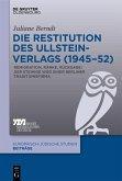 Die Restitution des Ullstein-Verlags (1945-52) (eBook, PDF)