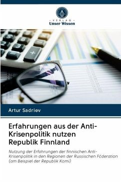 Erfahrungen aus der Anti-Krisenpolitik nutzen Republik Finnland