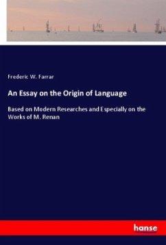 An Essay on the Origin of Language