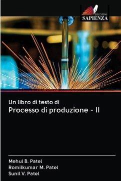 Un libro di testo di Processo di produzione - II