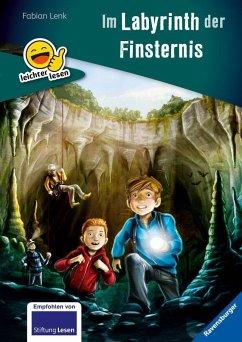 Das Labyrinth der Finsternis / leichter lesen Bd.3 (Mängelexemplar) - Lenk, Fabian