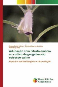 Adubação com nitrato-amônio no cultivo de gergelim sob estresse salino