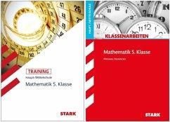 STARK Mathematik 5. Klasse Haupt-/Mittelschule - Klassenarbeiten + Training - Kick, Tobias;Heinrichs, Michael