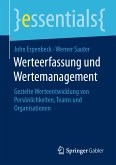 Werteerfassung und Wertemanagement (eBook, PDF)