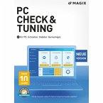 Magix PC Check & Tuning 2021 - 6 Geräte / 12 Monate (Download für Windows)