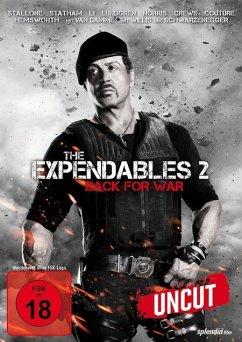 The Expendables 2 Uncut Edition - Stallone,Sylvester/Statham,Jason/Li,Jet/+