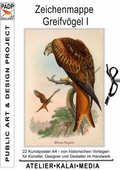 Zeichenmappe Greifvögel I (eBook, ePUB)