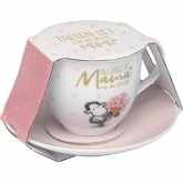 """Geschenkset Tasse und Unterteller """"Allerbeste Mama auf der Welt!"""""""