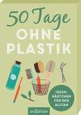 50 Tage ohne Plastik. Ideenkärtchen für den Alltag