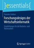 Forschungsdesigns der Wirtschaftsinformatik (eBook, PDF)