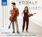 Sonata For Solo Cello/Duo For Violin And Cello
