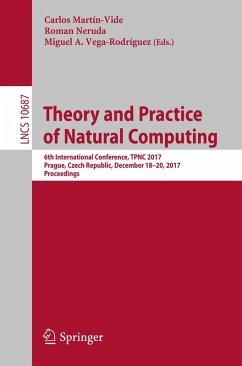 Theory and Practice of Natural Computing (eBook, PDF)