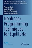 Nonlinear Programming Techniques for Equilibria (eBook, PDF)