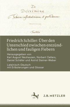 Friedrich Schiller: Über den Unterschied zwischen entzündlichen und fauligen Fiebern