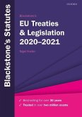 Blackstone's EU Treaties & Legislation 2020-2021