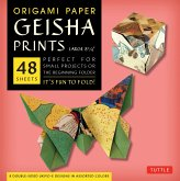 "Origami Paper Geisha Prints 48 Sheets X-Large 8 1/4"" (21 CM): Extra Large Tuttle Origami Paper: High-Quality Origami Sheets Printed with 8 Different D"