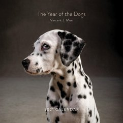 The Year of the Dogs 2021 Wall Calendar: (dog Portrait 12-Month Calendar, Dog Lovers Photography Monthly Calendar)