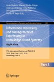 Information Processing and Management of Uncertainty in Knowledge-Based Systems. Applications (eBook, PDF)
