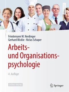 Arbeits- und Organisationspsychologie (eBook, PDF) - Nerdinger, Friedemann W.; Blickle, Gerhard; Schaper, Niclas