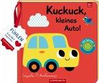 Mein Filz-Fühlbuch: Kuckuck, kleines Auto!