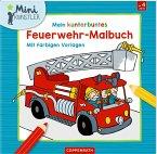 Mein kunterbuntes Feuerwehr-Malbuch