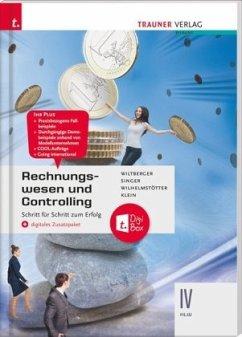 Rechnungswesen und Controlling IV HLW + digitales Zusatzpaket - Wiltberger, Eva;Singer, Doris;Wilhelmstötter, Michael