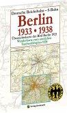 Übersichtskarte der Reichsbahndirektion Berlin 1933