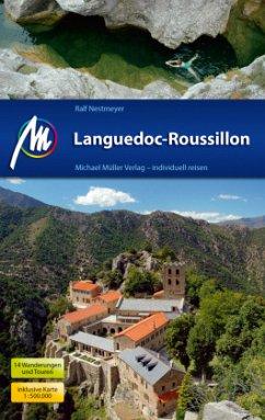 Languedoc-Roussillon Reiseführer, m. 1 Karte (Mängelexemplar) - Nestmeyer, Ralf