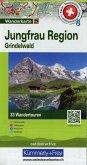 Jungfrau Region Grindelwald Nr. 04 Touren-Wanderkarte 1:50 000
