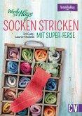 Woolly Hugs Socken stricken mit Super-Ferse. 24 Gute-Laune-Modelle. (eBook, PDF)