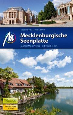 Mecklenburgische Seenplatte Reiseführer Michael Müller Verlag (Mängelexemplar) - Becht, Sabine; Talaron, Sven