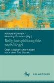 Religionsphilosophie nach Hegel
